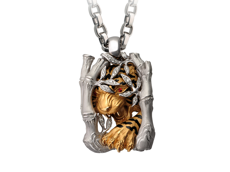 Magerit Man Collection Necklace Acecho Tiger