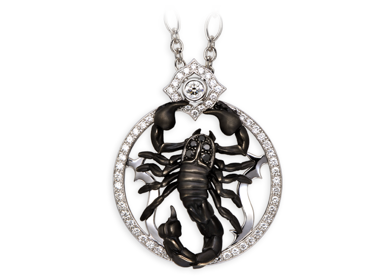 Magerit Scorpion Collection Necklace Scorpion