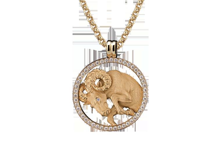 Magerit zodiac coleccin collar big aries co 10841 amarillo madreperla 18kt diamantes peso del oro 264 peso de los diamantes 001 ampliar aloadofball Choice Image