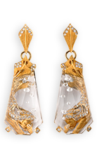 Magerit atlantis earrings_sirena_burbuja