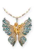 Magerit eternal 19necklace_butterfly_lovers