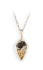 Magerit instinto necklace_reflejo_mediano