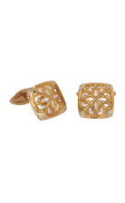 Magerit man cufflinks_vitral_square