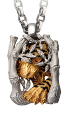 Magerit man necklace_acecho_tiger