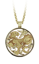 Magerit puma necklace_puma_round