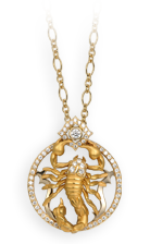 Magerit scorpion necklace_scorpion_bts