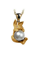 Magerit tender necklace_tender_rabbit