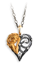 Magerit versailles necklace_corazon_mujer