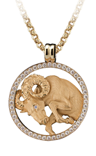 Magerit zodiac necklace_big_aries