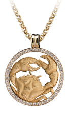 Magerit zodiac necklace_big_cancer