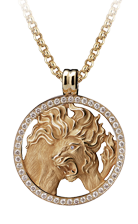 Magerit zodiac necklace_big_leo