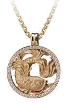 Magerit zodiac necklace_big_piscis